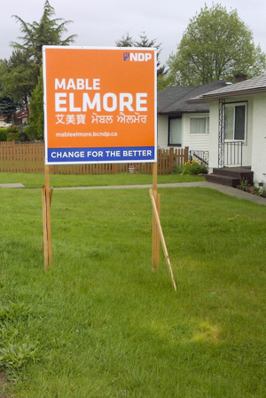 Printed Yard Signs